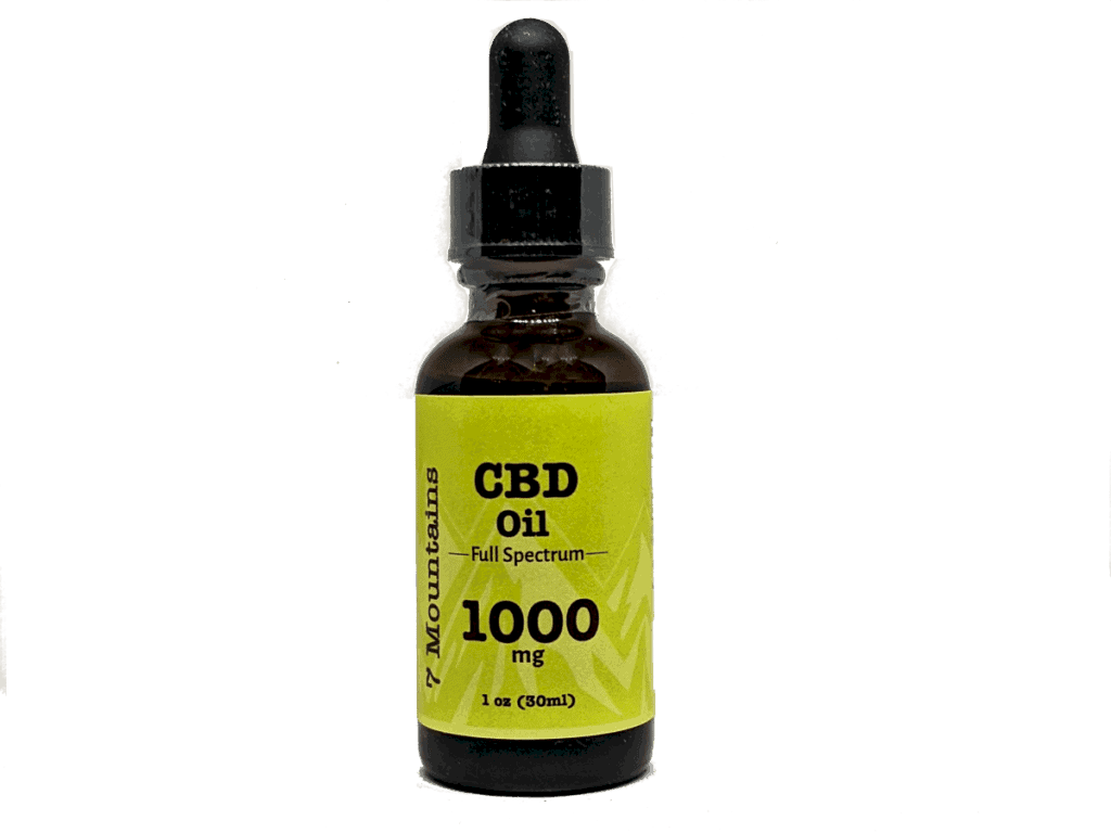7 mountains 1000 mg cbd oil