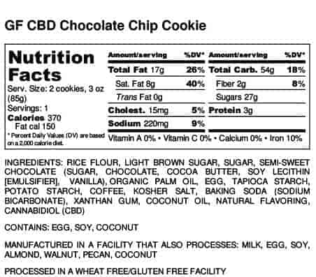 chb chocolate chip cookie