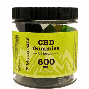 600 mg CBD Gummies