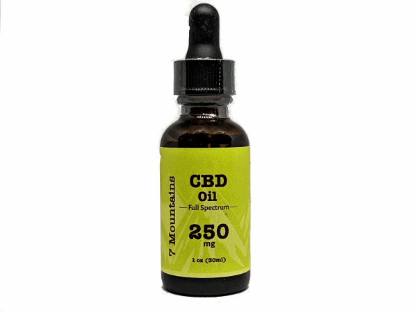 7 Mountains CBD 250 mg Full Spectrum CBD Oil