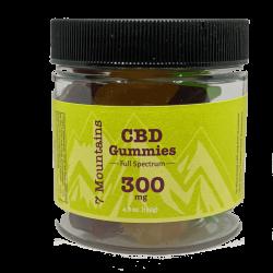 7 Mountains CBD 300 mg CBD Gummies
